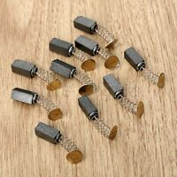 10X Carbon Brushes Bush Repairing Part for Electric Motor 17mmx10mmx6mm #BZ3