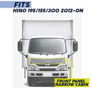 New Front Black Panel FOR 2012 2013 2014 2015 2016-2018 Hino 195 155 300 Dutro
