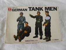 VINTAGE/RARE BANDAI 8277: GERMAN TANK MEN (1:48 SCALE) MADE IN JAPAN 197O'S -NEW