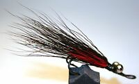 ICE FLIES. Streamer fly, The Cat, trout. Double hook. Size 4, - 10 (3-pack)