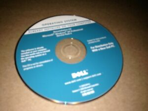 Dell Microsoft Windows XP Professional Service Pack 3 Operating System CD-ROM!!!