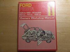FORD FIESTA 1976 ~ 1980 HAYNES SERVICE WORKSHOP REPAIR MANUAL