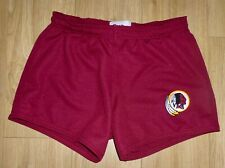 "NFL WASHINGTON REDSKINS-Sports/Gym Shorts-Maroon-Embroidered-34""Waist-NEW"