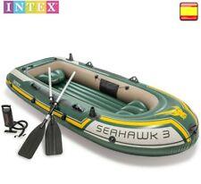 Intex 68380 Seahawk 3 Set Bateau gonflable pneumatique Sport