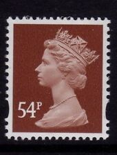 GB 2007 Machin Definitive 54p red-brown SG Y1728 (formally Y1719c) MNH (2B)