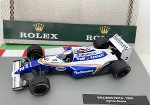 F1 Car Collection Xtra Ayrton Senna Fully Upgraded ROTHMANS Williams FW16 1994