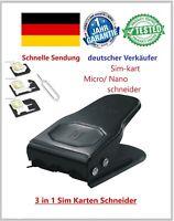 Sim Karten Schneider  Mikro / Nano / Micro Schneider Stanze Cutter 3 in 1 SUPER