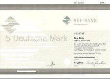 BHF Bank Aktiengesell. Frankfurt 1995 ING Group Oppenheim 1 x 5 DM Sammelaktie