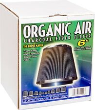 "Organic Air 6"" PHAT Charcoal Fiber Filter Highest Flow 942 CFM The Fresh Maker $"