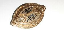 Pin simple c clasp Antique Victorian T'aille d'epargne