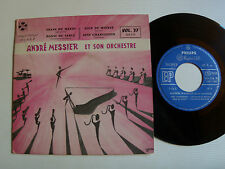 """ANDRE MESSIER (ANDREW WALRENCE) VOL 37 - Train du matin 7"""" EP PHILIPS 424.116"""
