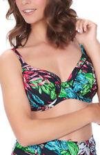 Abbigliamento floreale in poliammide per il mare e la piscina da donna taglia coppa DD