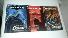 BATMAN Trade Paperback-LA CITTÀ DEL CRIMINE 6 7 8 (TP6-TP7-TP8) DC PLAYPRESS-MV4