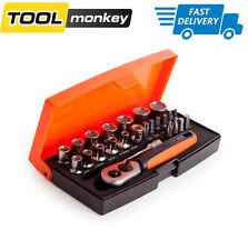 Bahco SL25 25 Piece Socket Set 1/4 Inch Drive