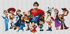 Disney Film Characters Counted Cross Stitch Kit, Cartoon characters, TV/Film