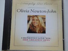 OLIVIA NEWTON-JOHN <>  Simply The Best  <> NM (CD)