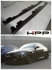 For BMW E92 M3 Body Kit Carbon Fiber Side Skirt Extension Spoiler