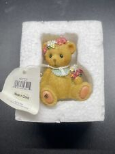"New Cherished Teddies ""Darling as A Daisy� Helena Bear With Flowers 2012"