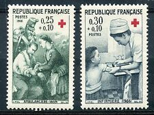 STAMP / TIMBRE FRANCE NEUF LUXE ** N° 1508/1509 ** CROIX ROUGE