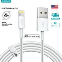 Lightning Cable for iPhone 11 Pro Max X XS XR 8 7 Plus, Overtime MFi Certified