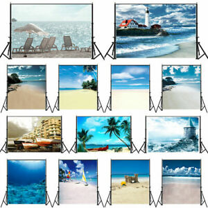 7x7FT Vinyl Backdrop Photographer,Waves,Ocean Surfing Aquatic Background for Party Home Decor Outdoorsy Theme Shoot Props