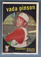 1959 Topps #448 Vada Pinson VG-EX    Set Break A