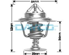 Thermostat for Jaguar E Type Mar 1969 to May 1972 DT18A