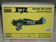Choroszy Model 1/72 Scale Resin Breda Ba.27M, Single Seat Fighter