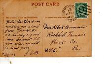 September 23 1909 House of Assembly Ontario Post Card View of Niagara Falls