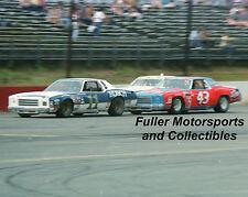 RICHARD PETTY #43 STP vs CALE YARBOROUGH #11 1979 8X10 PHOTO NASCAR WINSTON CUP