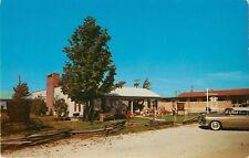 c1950s The Village Antique Shop, Syracuse, Indiana Postcard