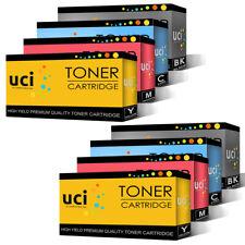 8 Remanufactured Toner Cartridges for OKI C610 C610dn C610dtn C610n