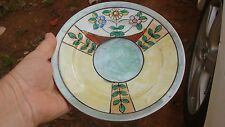 (3) Antique Art Pottery lustreware TT Takito Hand Painted flowered  plates Japan