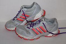 Adidas Marathon TR 10 Running Shoes, #G96900, Lt Grey/Salmon/Ppl, Womens US 9