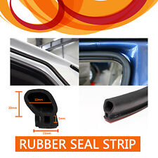 Rubber Seal Strip Car Hood Boot Bonnet Door Edge Trim Dust-proof Air Hollow 5M