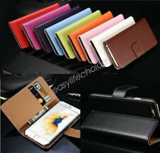 Genuine Leather Apple iPhone 6 6S Plus Cover Case