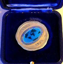 ITALCABLE moneta per il cinquantenario 1971 in argento 975