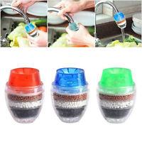 Carbon Purifier Filter Wasserfilter Wasserhahn Hahn Haus Küchen Werkzeug Rro·