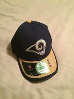 Los Angeles RAMS New Era Official NFL 39THIRTY BASEBALL HAT CAP (youth size)