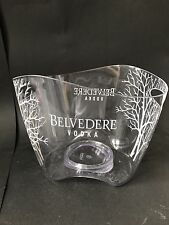 Belvedere Vodka Acryl Kühler Deko Party Ice Bucket