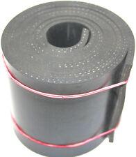 1000x100x5 mm Gummiauflage mit Gewebe Gummistreifen Gummiplatte Schürfleiste