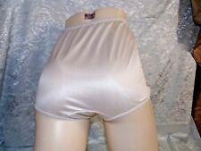 Vintage Wrangler 1970's White Shiny Nylon brief Panties new old stock size 6