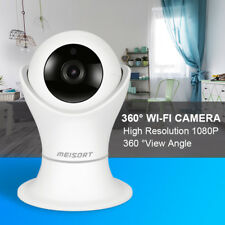 Meisort IP20 Wifi Camera 1080P 360 Degree World Cup Wireless Webcam Baby Monitor