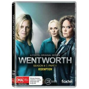 Wentworth Season 8 Part 1 Redemption BRAND NEW Region 4 DVD