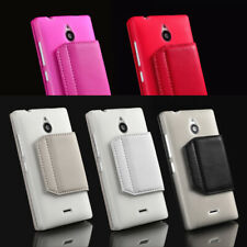 For Nokia X2 Phone Case Cover Card Holder Slots Fashion PU Leather Soft TPU S-CH