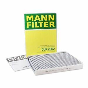 Mann Cabin Air Filter CUK2862 fits VW BEETLE 9C1, 1C1 2.0 1.8 T 1.6 1.9 TDI
