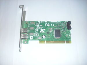 DELL OH924H IEEE 1394, 2 Port PCI Firewire Controller Card, Low Profile