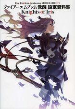 Fire Emblem Awakening Kakusei MODEL SHEETS Knights of Iris Art Book Japan Import