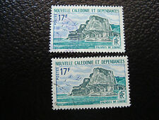 NOUVELLE CALEDONIE timbre yt n° 336 x2 obl (A4) stamp new caledonia