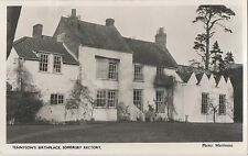 POSTCARD  SOMERSBY  RECTORY   Tennyson